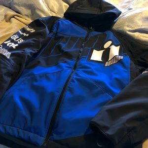 Men's armored motorcycle jacket